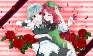 Rating: Safe Score: 5 Tags: hong_meiling izayoi_sakuya katayama_kei touhou User: Radioactive