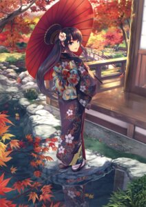 Rating: Safe Score: 69 Tags: hiiro_yuki kimono umbrella User: Twinsenzw