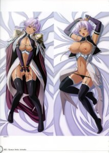 Rating: Explicit Score: 29 Tags: breasts cleavage dakimakura gladys_von_wackenheim kyonyuu_fantasy_gaiden lactation nipples pantsu q-gaku stockings thighhighs waffle User: inchi