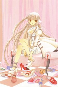 Rating: Safe Score: 9 Tags: chii chobits clamp lolita_fashion User: Radioactive