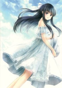 Rating: Safe Score: 54 Tags: dress hagiwara_rin summer_dress User: Radioactive