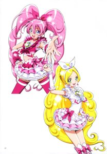 Rating: Safe Score: 7 Tags: dress houjou_hibiki kamikita_futago minamino_kanade pretty_cure suite_pretty_cure thighhighs User: drop