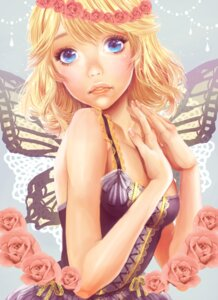 Rating: Safe Score: 9 Tags: kagamine_rin minami_haruya vocaloid wings User: charunetra