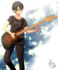 Rating: Safe Score: 10 Tags: guitar kirito male sword_art_online sword_art_online_alicization User: kiyoe