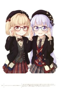 Rating: Safe Score: 49 Tags: iijima_yun megane new_game! suzukaze_aoba tokunou_shoutarou User: Twinsenzw