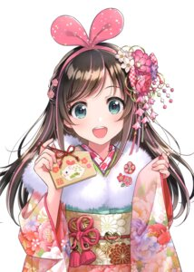 Rating: Safe Score: 21 Tags: a.i._channel canvas_(morikura_en) kimono kizuna_ai morikura_en tagme User: kiyoe