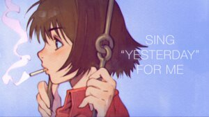 Rating: Safe Score: 13 Tags: ilya_kuvshinov nonaka_haru smoking wallpaper yesterday_wo_utatte User: sylver650