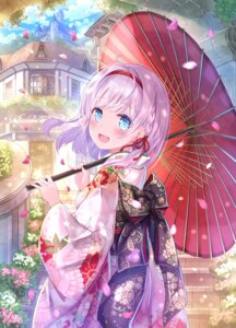 Rating: Safe Score: 56 Tags: kanipanda kimono umbrella User: Mr_GT