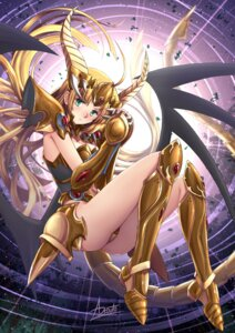 Rating: Safe Score: 18 Tags: adsouto armor asia_argento ass highschool_dxd horns leotard wings User: charunetra
