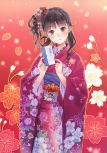 Rating: Safe Score: 31 Tags: kimono kishida_mel maigo_tsuushin User: fireattack