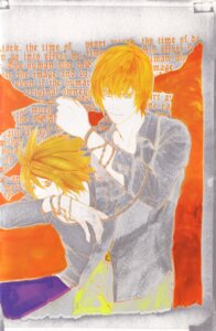 Rating: Safe Score: 4 Tags: death_note l male obata_takeshi yagami_light User: Radioactive