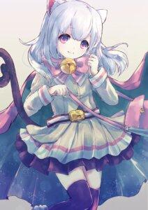Rating: Safe Score: 36 Tags: alicetype animal_ears dress merc_storia nekomimi tail thighhighs User: KazukiNanako