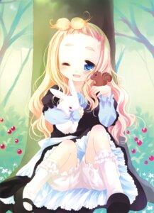 Rating: Safe Score: 42 Tags: bloomers dress lolita_fashion sakurazawa_izumi stockings thighhighs wa_lolita User: demon2