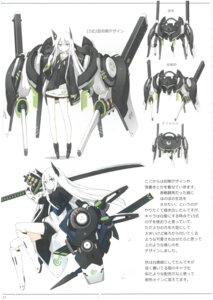 Rating: Safe Score: 11 Tags: asahiage heels horns mecha poco sword User: Radioactive