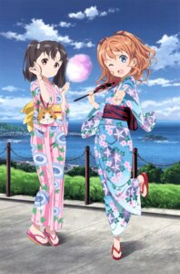 Rating: Safe Score: 25 Tags: high_school_fleet shiretoko_rin tagme yanagiwara_maron yukata User: Radioactive