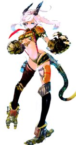 Rating: Safe Score: 22 Tags: horns so-bin tail thighhighs underboob User: Radioactive