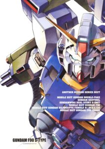 Rating: Safe Score: 7 Tags: gundam gundam_f90 mecha User: Radioactive