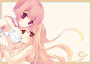Rating: Questionable Score: 47 Tags: bra mizore_maji naked nipples yuri User: blooregardo
