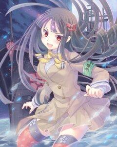Rating: Safe Score: 34 Tags: aoki_hagane_no_arpeggio ashigara_(aoki_hagane_no_arpeggio) kizuna seifuku thighhighs User: fairyren