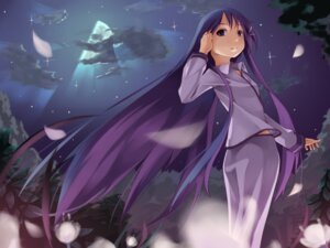 Rating: Safe Score: 8 Tags: akiba_rika foge hanbun_no_tsuki_ga_noboru_sora wallpaper User: charunetra