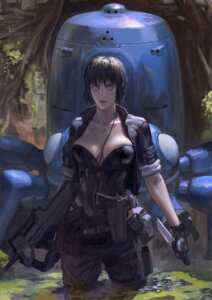 Rating: Safe Score: 26 Tags: cleavage ghost_in_the_shell ghost_in_the_shell:_stand_alone_complex gun kusanagi_motoko tachikoma xiaji User: Radioactive