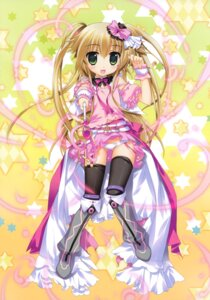 Rating: Safe Score: 50 Tags: dress fujima_takuya pantsu thighhighs User: crim
