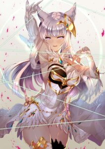 Rating: Safe Score: 88 Tags: animal_ears armor granblue_fantasy korwa thighhighs xephonia User: Mr_GT