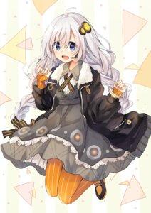 Rating: Safe Score: 34 Tags: asanagi_kurumi_(panda-doufu) dress kizuna_akari pantyhose voiceroid User: Mr_GT