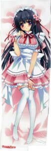 Rating: Safe Score: 51 Tags: carnelian dakimakura dreamparty maid thighhighs User: charunetra