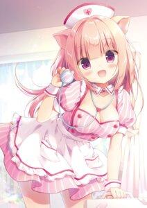 Rating: Safe Score: 43 Tags: animal_ears canvas+garden cleavage dress miyasaka_nako rowa tagme User: lightsnow