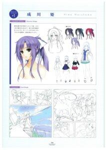 Rating: Explicit Score: 7 Tags: breast_grab breasts censored character_design hibiki_works iizuki_tasuku line_art lovely_x_cation_2 maid narukawa_hime nipples thighhighs User: 4ARMIN4