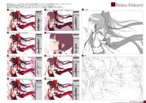 Rating: Questionable Score: 12 Tags: digital_version gekidoku_shoujo hakurei_reimu ke-ta sketch touhou tutorial User: fireattack