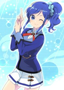 Rating: Safe Score: 18 Tags: aikatsu! kiriya_aoi seifuku wara User: RyuZU