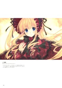 Rating: Questionable Score: 15 Tags: mitsumi_misato rozen_maiden scanning_artifacts shinku User: Radioactive