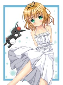 Rating: Safe Score: 31 Tags: dress gochuumon_wa_usagi_desu_ka? kirima_sharo suirentou summer_dress User: mash