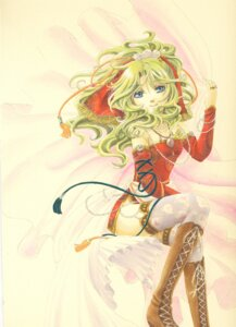 Rating: Safe Score: 12 Tags: final_fantasy final_fantasy_vi socha thighhighs tina_branford User: charunetra