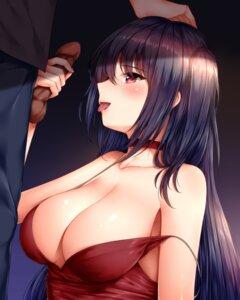 Rating: Explicit Score: 45 Tags: azur_lane censored cleavage handjob no_bra penis taihou_(azur_lane) wsman User: Mr_GT