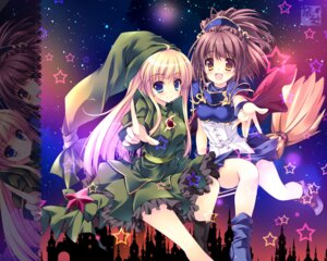 Rating: Safe Score: 31 Tags: arle_nadja nanaroba_hana puyo_puyo wallpaper witch_(puyo_puyo) User: 椎名深夏