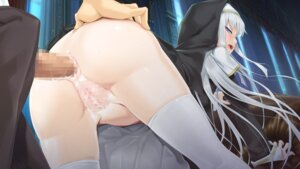 Rating: Explicit Score: 165 Tags: anal ass ass_grab bishoujo_mangekyou censored cum game_cg happoubi_jin kagarino_kirie nopan nun omega_star penis pussy sex thighhighs User: blooregardo