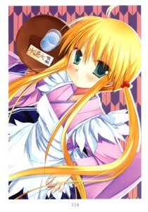 Rating: Safe Score: 25 Tags: color_issue hayate_no_gotoku miyasu_risa sanzenin_nagi waitress User: fireattack