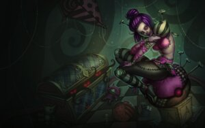 Rating: Questionable Score: 5 Tags: heels league_of_legends tagme User: Radioactive