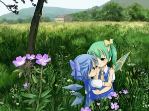 Rating: Safe Score: 14 Tags: cirno daiyousei sixten touhou wings User: Mr_GT