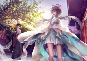 Rating: Safe Score: 39 Tags: chinadress luo_tianyi nazume vocaloid yuezheng_ling User: PonyPokey