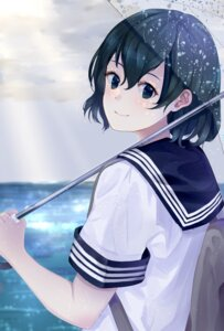 Rating: Safe Score: 19 Tags: ancolatte_(onikuanco) kaban_(kemono_friends) kemono_friends seifuku umbrella User: charunetra