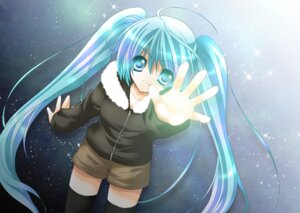 Rating: Safe Score: 17 Tags: hatsune_miku oryuu_aya vocaloid User: charunetra