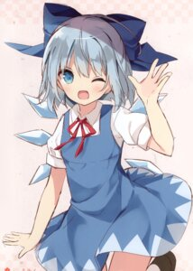 Rating: Safe Score: 22 Tags: cirno dress hoshi tagme touhou wings User: Radioactive