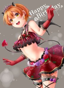 Rating: Safe Score: 19 Tags: garter horns hoshizora_rin love_live! tagme tail underboob wings User: Spidey