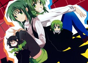 Rating: Safe Score: 6 Tags: chibi gumi marirero_a thighhighs vocaloid User: Hatsukoi