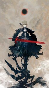 Rating: Safe Score: 48 Tags: armor fate/stay_night huke saber saber_alter sword User: blooregardo