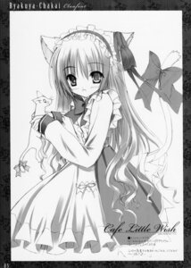 Rating: Safe Score: 24 Tags: animal_ears cafe_little_wish mina monochrome tail tinkle User: admin2